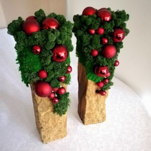 Dekoracja świąteczna ekologiczna